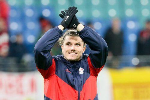 Marcel Sabitzer freut sich über die Wiederaufnahme des Mannschaftstrainings.gepa