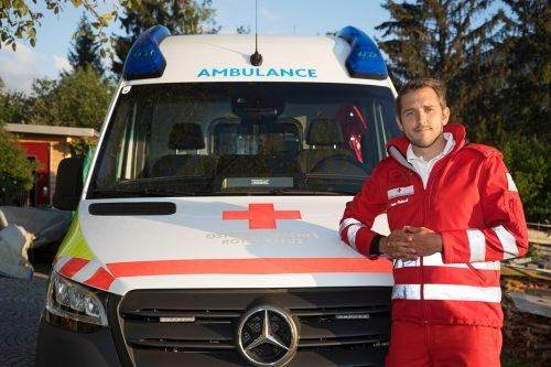Michael Rüdisser aus Dornbirn ist dem Roten Kreuz seit seinem Zivildienst im Jahr 2009 verbunden. RKV