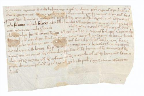 Nüziders fand seine erstmalige Erwähnung in den Folcwin-Urkunden. stiftsarchiv