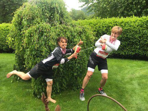 Paul Reitmayr durchbrach mit Sohn Emil die 40-Minuten-Schallmauer.