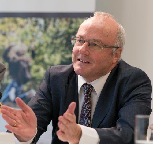 Dr. Reinhard Haller: Vortrag in Langenegg.