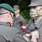 Soldaten für Assistenzeinsatz in der Coronakrise ausgezeichnet