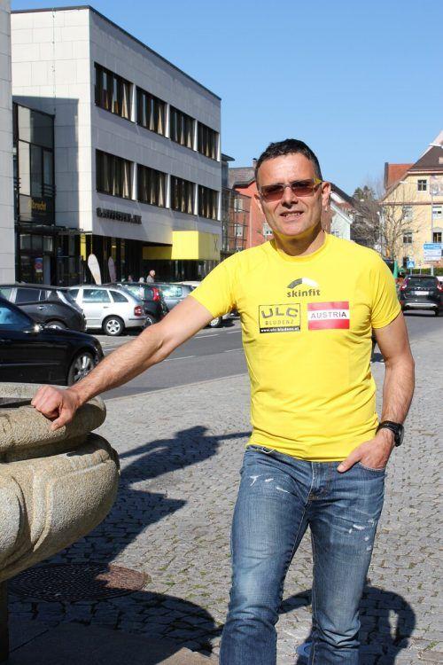 Richard Föger verzichtet beim Laufen auf Ohrstöpsel. Er will die Natur hören.
