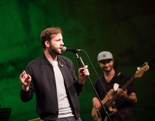 """Sänger Josh geht beim """"Free European Song Contest"""" für Österreich ins Rennen. APA"""