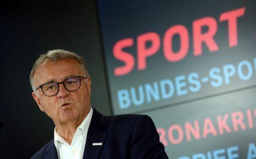 Sport-Austria-Präsident mahnt zur Eile, wenn es um die finanzielle Hilfe für Vereine geht.apa