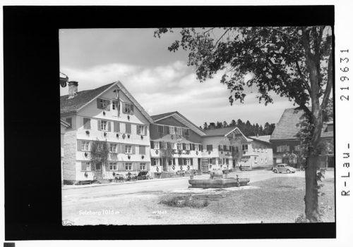 Sulzberg Mitte der Fünfzigerjahre.