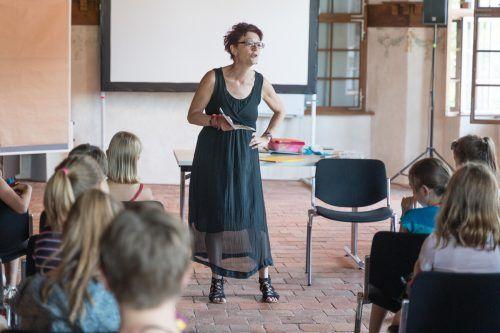 Susa Hämmerle war bei der Buch am Bach 2019 dabei. VN/Stiplovsek