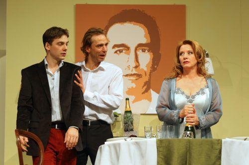 """Szene aus """"Bella Donna"""" von Stefan Vögel am Vorarlberger Volkstheater. VN/HB"""