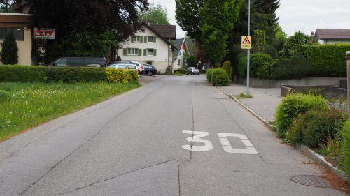 Tempo 30 auf den Landesstraßen – dieses Vorhaben wird noch 2020 realisiert.