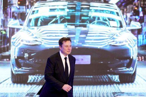 Tesla-CEO Elon Musk sorgte für zehnprozentigen Absturz der Tesla-Aktie.Reuters