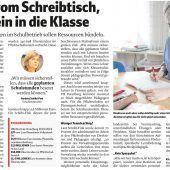 Vorarlberg spart in der Bildung