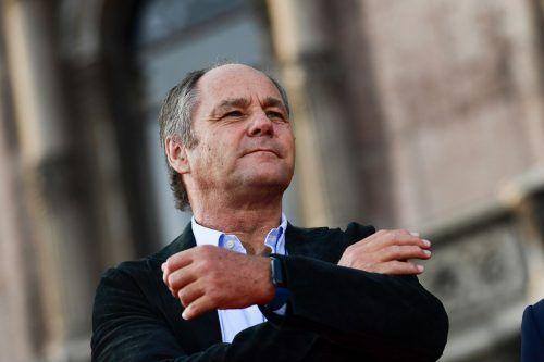 Gerhard Berger sucht Rennteams für die Fortsetzung der DTM.apa