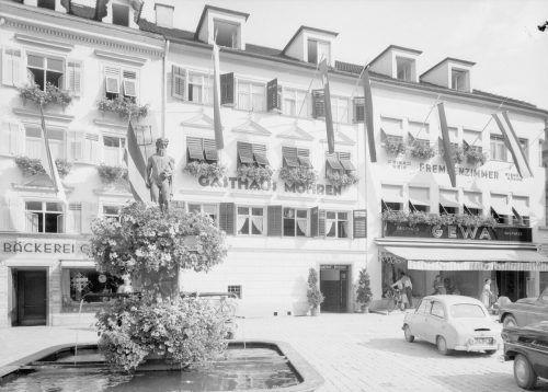 1875 kaufte Michael Steinhauser die Reinersche Schankwirtschaft und benannte sie in Mohren. Im darauffolgenden Jahr wurde das Gasthaus um eine Brauerei erweitert, die bis 1896 in Betrieb war.