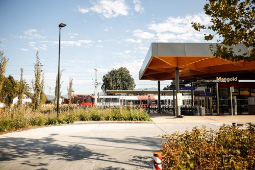 2019 wurde wieder in den Ausbau von Fuß- und Radwegen und den neuen Bahnhof Lustenau investiert. Gemeinde