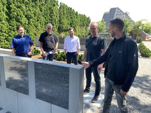 48 neue Urnengräber stehen im Hasenfeld zur Verfügung.Gde