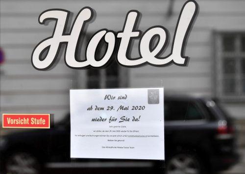 """""""Schönlangsam brennt der Hut"""", so die Hoteliervereinigung. apa"""