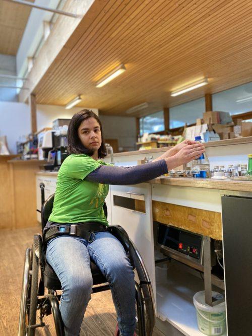 Als besonders beschwerlich erweist sich die derzeitige Ausstattung für Rollstuhfahrer.