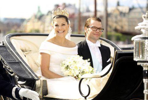 Am 19. Juni 2010 gaben sich Kronprinzessin Victoria und Daniel Westling das Jawort. APN