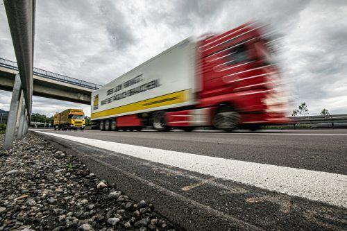 An dieser Stelle der A 96 stand in Lindau bis Freitagnachmittag noch ein Grenzkontrollstandpunkt der Bundespolizei.VN/sams