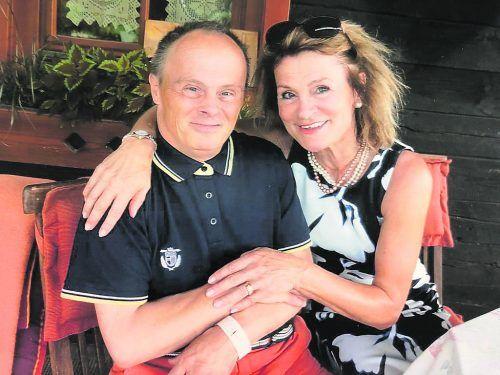 Angelika Mayrhofer-Battlogg und ihr Bruder Wolfram waren eng verbunden.