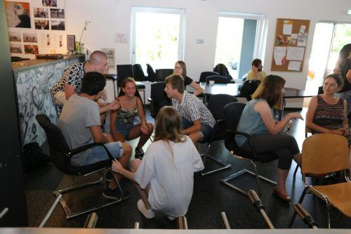 Auch die eingeplanten Stufen zum Bachbett konnten mit den Jugendlichen im Rahmen eines Workshops besprochen werden. gemeinde