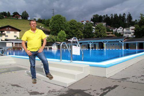 Bademeister Helmut Stelzer aus der Felsenau.he