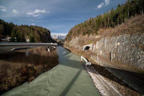 Bereits im Dezember kam es zu Vorarbeiten für den Stadttunnel. VN/Stiplovsek