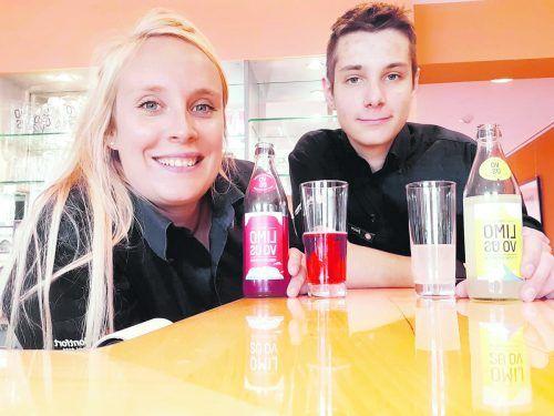 Bestes Teamwork: Lehrlingsausbilderin Cornelia Kreßnig und Servicelehrling Jason Breuss.Montfort, das Hotel