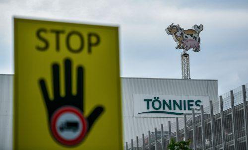 Betroffen ist das Tönnies-Werk in Rheda-Wiedenbrück. AFP
