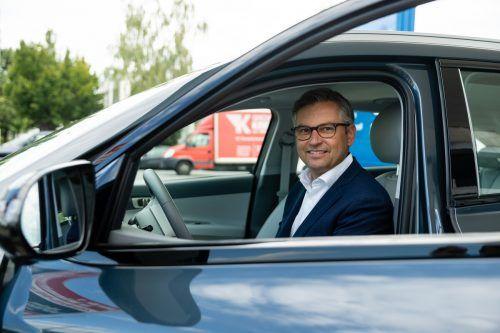 Brunner schaffte sich als Dienstwagen ein Wasserstoffauto an.BKA/Dunker