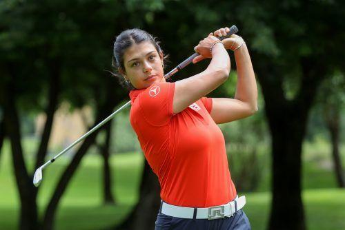 Chantal Düringer befindet sich starker Form und schaffte es nach zwei Runden in Salzburg auf den zweiten Platz.GCBludenz