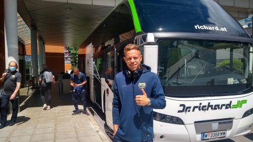 Christian Möckel nahm sich nach dem Auftaktmatch in Mattersburg viel Zeit.König