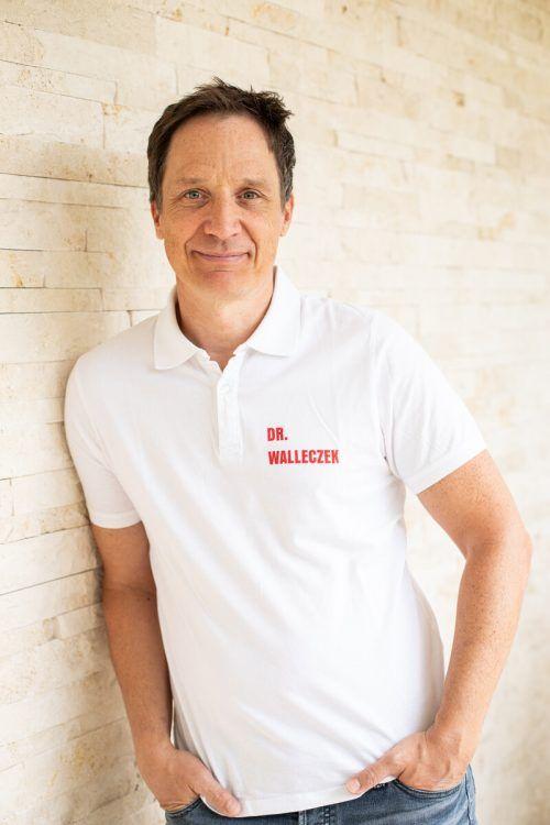 Christian Walleczek setzt sich permanent für Verbesserungen im medizinischen Bereich ein. Fontain