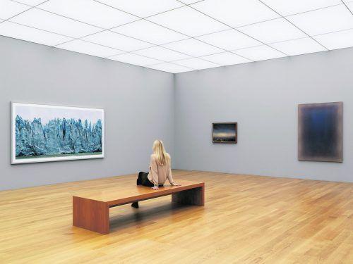Das Kunstmuseum Liechtenstein in Vaduz hat wieder geöffnet. stefan altenburger