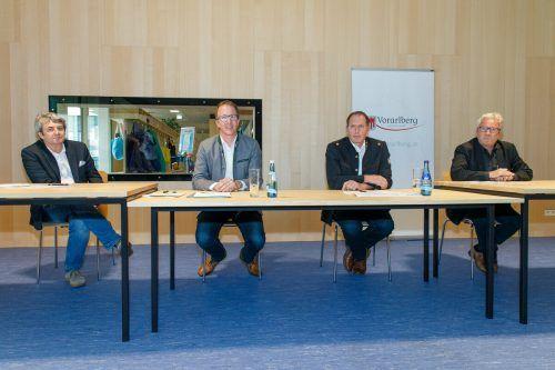 Das Land Vorarlberg unternimmt derzeit vermehrt Anstrengungen, um den Holzbau zu forcieren. VLK/Hofmeister