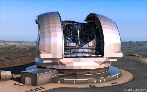 Das Superteleskop wird derzeit in der chilenischen Atacama-Wüste gebaut.