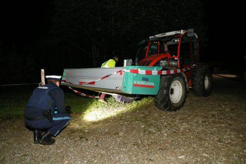 Das Unglück mit dem Traktor ereignete sich im Juli 2019 in Balderschwang im Allgäu.  B. Liss