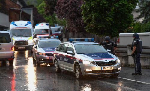 Der 33-jährige Mann wurde in Imst festgenommen. APA/zeitungsfoto.at/liebl