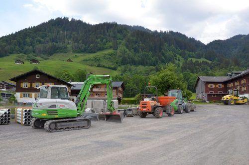 Der Bauabschnitt soll bis Ende Oktober abgeschlossen werden.