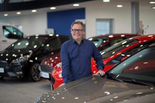 Der Dornbirner Autohausbetreiber Christoph Gerster. vn/Paulitsch