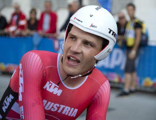 Der Hohenemser Matthias Brändle hat eine kurze und intensive Radsaison vor sich.apa