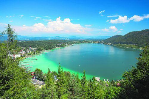 Der Klopeiner See verspricht jede Menge Badespaß.Shutterstock/Jiri Stoklaska
