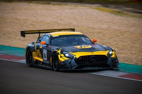 Der Mercedes-AMG GT3 von Patryk Krupinski, der nun auch von Christian Klien pilotiert wird.JP Motorsport