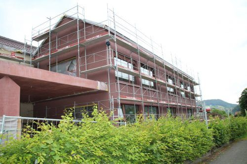 Das Bildungszentrum Frastanz-Hofen ist im Rechnungsabschluss von 2019 mit 3,5 Millionen Euro bedacht, die Gesamtkosten sind mit 20 Mill. Euro veranschlagt. HE