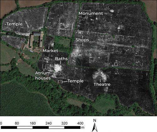 Die ausgewerteten Radardaten ergeben ein genaues Stadtbild. AFP