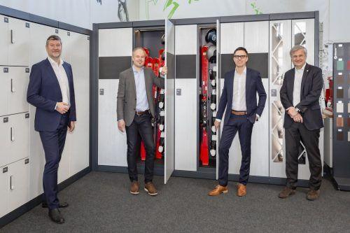 Die beiden Geschäftsführer Andreas Seidl (li.) und Daniel Steininger. Fa