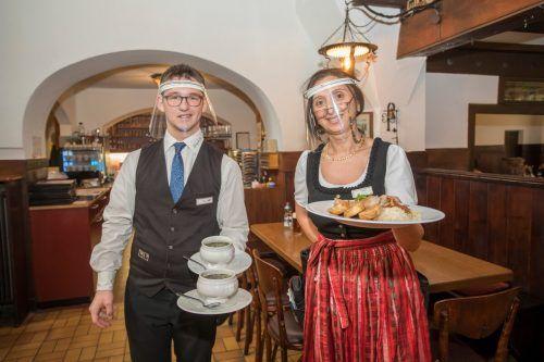 Die Gastronomie wird gefördert, wenn sie mit der Förderung Lebensmittel aus Vorarlberger Produktion kauft. (Bild: Goldener Hirschen, Bregenz).VN/Paulitsch