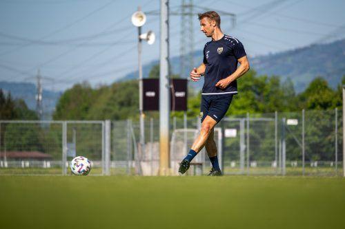 Die harte Arbeit macht sich mehr und mehr bezahlt, nun steht Philipp Netzer vor einer Rückkehr in den Kader.gepa