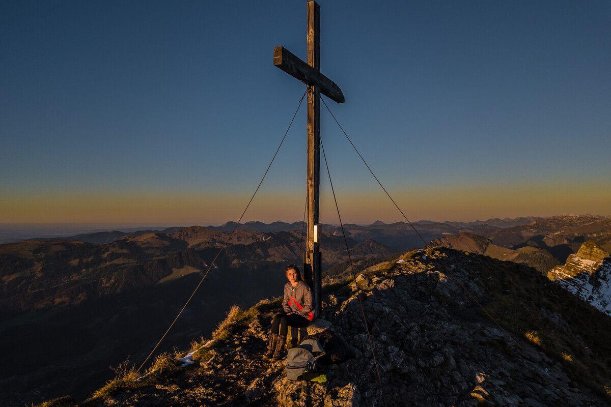 Die Kanisfluh zählt zu den schönsten Aussichtsbergen im Land.