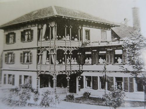 Die Koch- und Haushaltungsschule im Oberdorf um 1895. Stadtarchiv